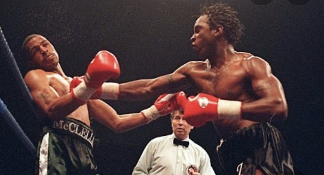 Tonight at 9pm on @talkSPORT myself and @Russw777 talk to @NigelGBenn about the fight of his life with Gerald Mcclellan, how the fight was made, the build up, he breaks down the fight round by round, what happened afterwards, what He's up to know, unbelievable stuff,🥊🔥