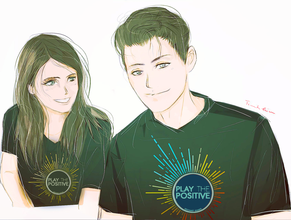 1 theme for August Art PROMPTS of #dechartgames #warmth / #heat thinking about this kind community and #playthepositive, guys! A nice message from you  a fast sketch for you! #ConnorArmy #play #positive #playpositive #bryandechart #dechart #ameliaroseblaire #amelia #bryanpic.twitter.com/9qmhPyTB71