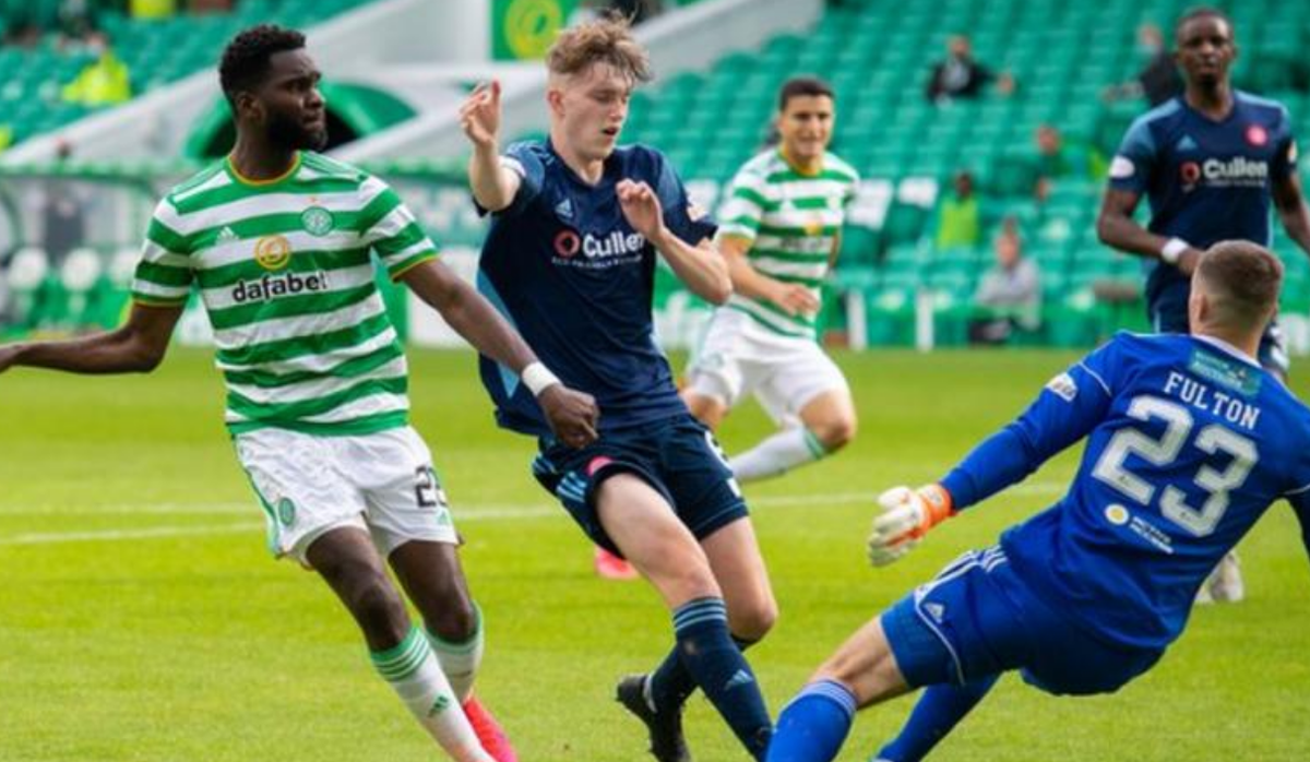 Hat-trick for Odsonne Edouard! Celtics quest for a record 10th straight Scottish Premiership title started strongly. Report: bbc.in/3fj0fB3