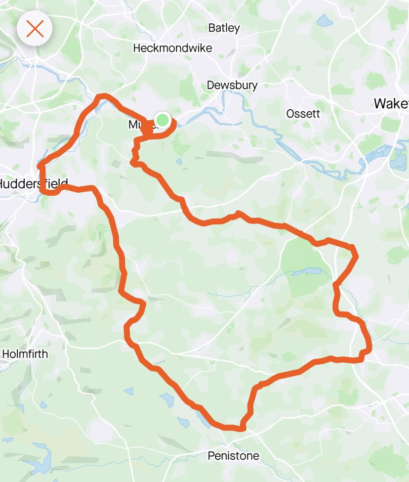 42 miles training on the bike today for my @mahdloyz to Hull and Back 150 mile ride later in the month. Next training ride i am going to draw the cows legs 🐄 😁#cycling #fundraising #oldham #mahdlo #onside