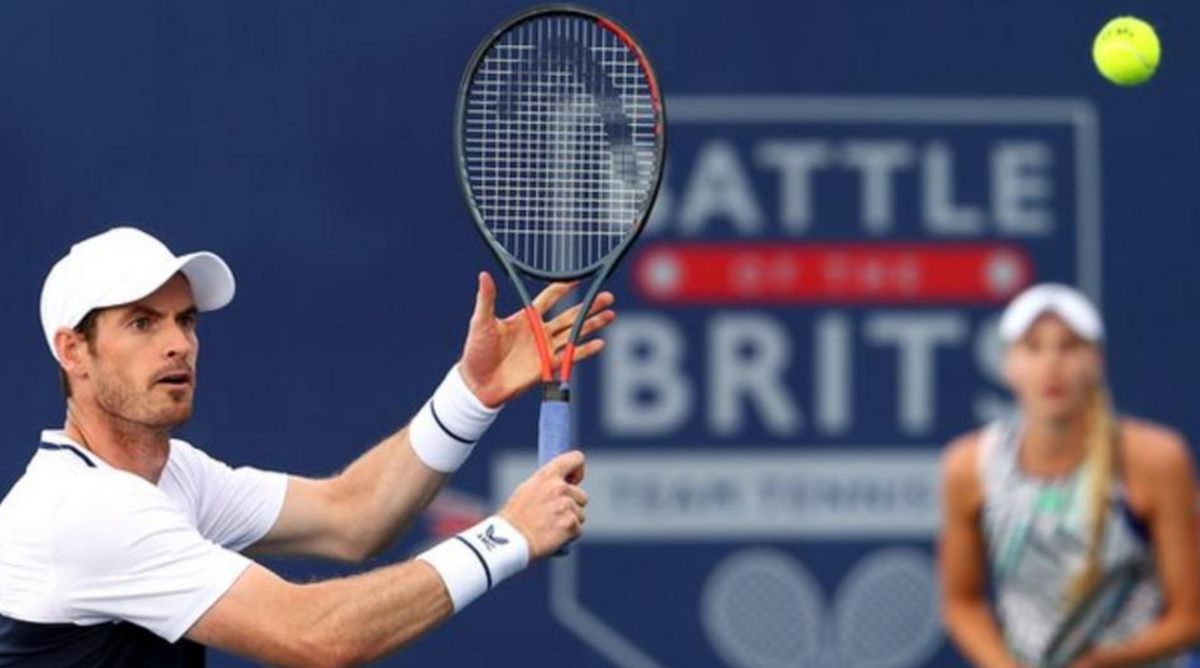Andy Murray and Naomi Broady set up a winner-takes-all finale in the Battle of the Brits after beating Kyle Edmund and Emma Raducanu. Report: bbc.in/2DsRcAh
