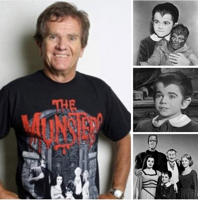 Happy Birthday to Eddie Munster of The Munsters, Butch Patrick. Born on August 2, 1953.