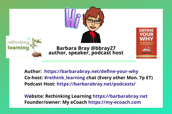 Hi #teachpos! Barbara from Oakland, CA. Looking forward to wonderful convos with @donna_mccance taking the lead.