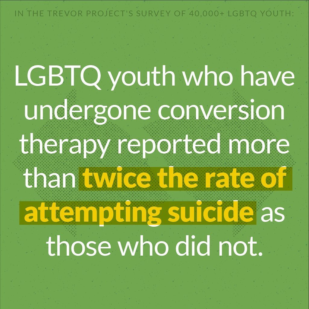In the largest study of #LGBTQ+ youth in the USA yet, our partners in the @trevorproject released staggering figures about the state of mental health in this population - including that 40% have considered suicide in the past year. https://t.co/fMMfxOnaVD