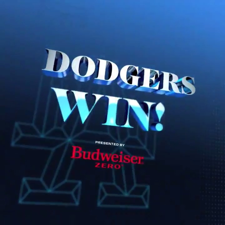 #DodgersWin! FINAL: #Dodgers 3, D-backs 0