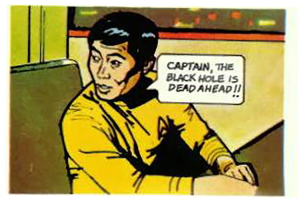 @TrekComicWtf Happy anniversary. Don't run into the black hole!