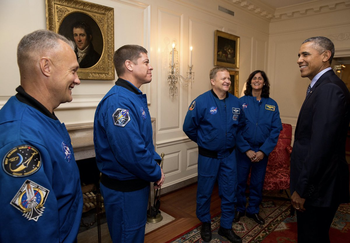 Welcome home, @AstroBehnken and @Astro_Doug! We launched the Commercial Crew program to strengthen our U.S. space program and its been great to see its success. This historic NASA-SpaceX mission is a symbol of what American ingenuity and inventiveness can achieve.