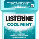 Image for the Tweet beginning: Listerine Antibacterial Mouthwash Coolmint, 500ml