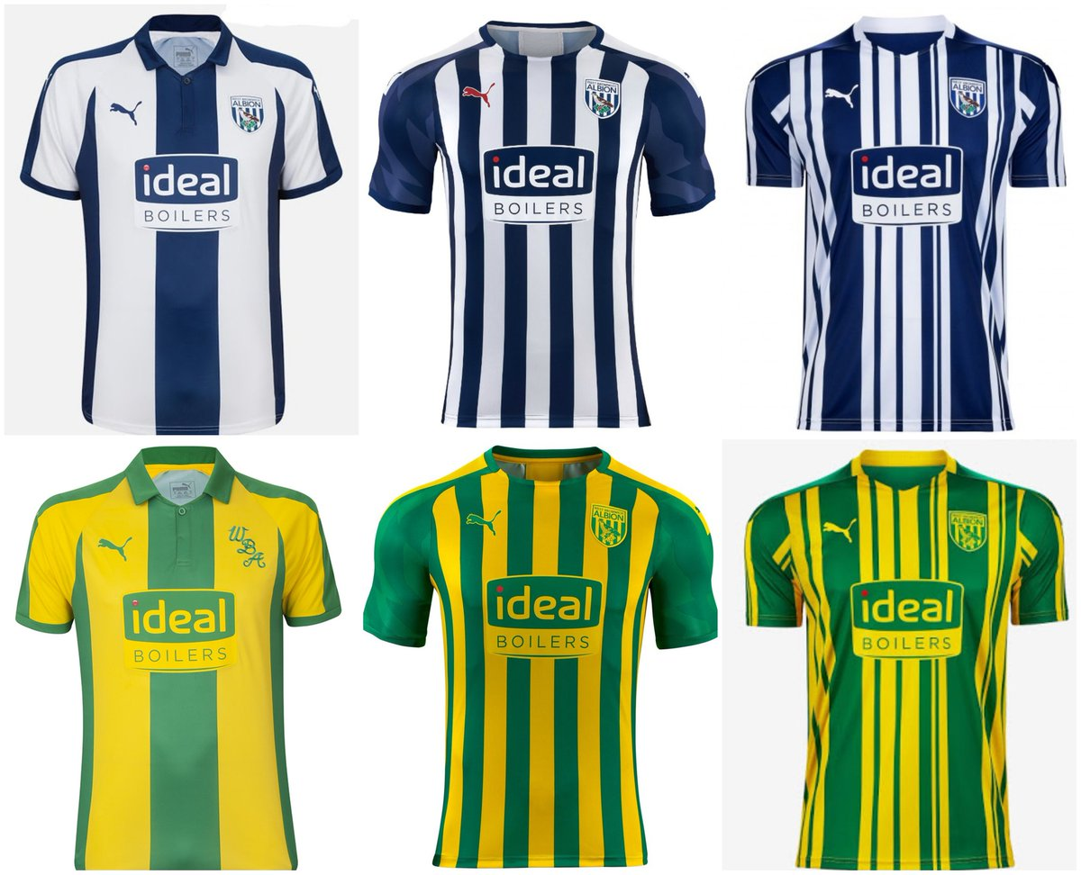 Kit Crimes On Twitter The Last Three West Brom Home Away Kits Same Supplier Same Sponsor Same Badge Same Colours Wba Keep Them For Two Years Save The Fans Some Money Allow
