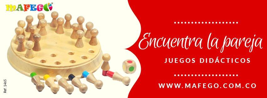 Memorizar la ubicación de los diferentes muñecos con el fin de voltear sucesivamente las 2 fichas idénticas que formen pareja, para llevárselas.  Compras online  🛍️ https://t.co/8tX3yA6Yz7  🚚 Envíos nacionales 📲 WhatsApp 3172690678 📍#Pasto #Colombia #domicilios #envios https://t.co/sQAtH35ra7