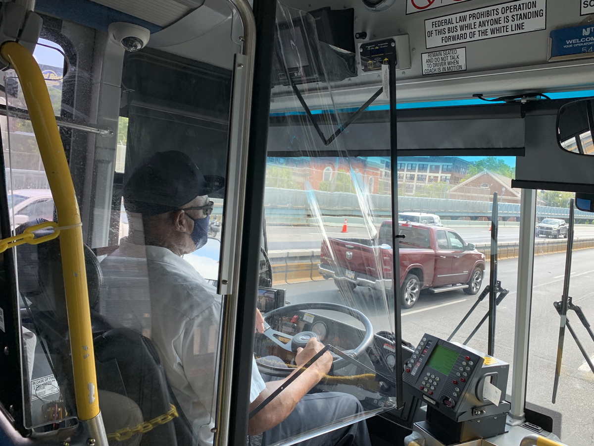Nj Transit On Twitter Nj Transit Is Resuming Front Door Boarding And Collection Of Cash Fares Starting Tomorrow On Buses With Protective Barriers Installed Around The Bus Operator To Protect Customers And