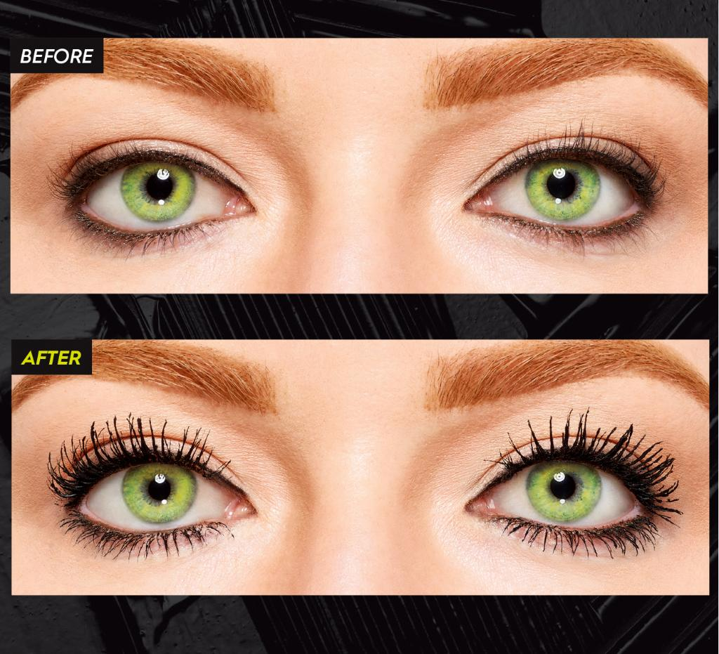 We are LIVINNNNG for this before & after using our all-new Lash Freak Mascara! NOTE: LASHES HAVEN'T BEEN RETOUCHED. Shop NOW at your favorite retailer: bit.ly/2BOOBQM #LashFreak #Makeup #Lashes #Sephora #UltaBeauty #Macys #Nordstrom