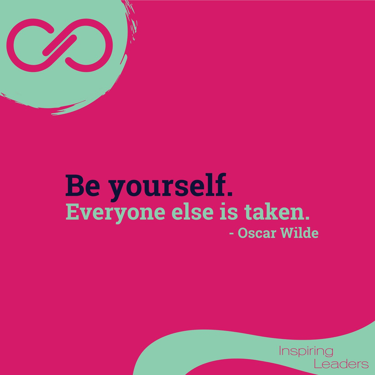 Be yourself. Everyone else is taken.  - Oscar Wilde  #makeadifference #inspiration #positiveimpact #inspiringleaderspic.twitter.com/5X9hJAiuZA