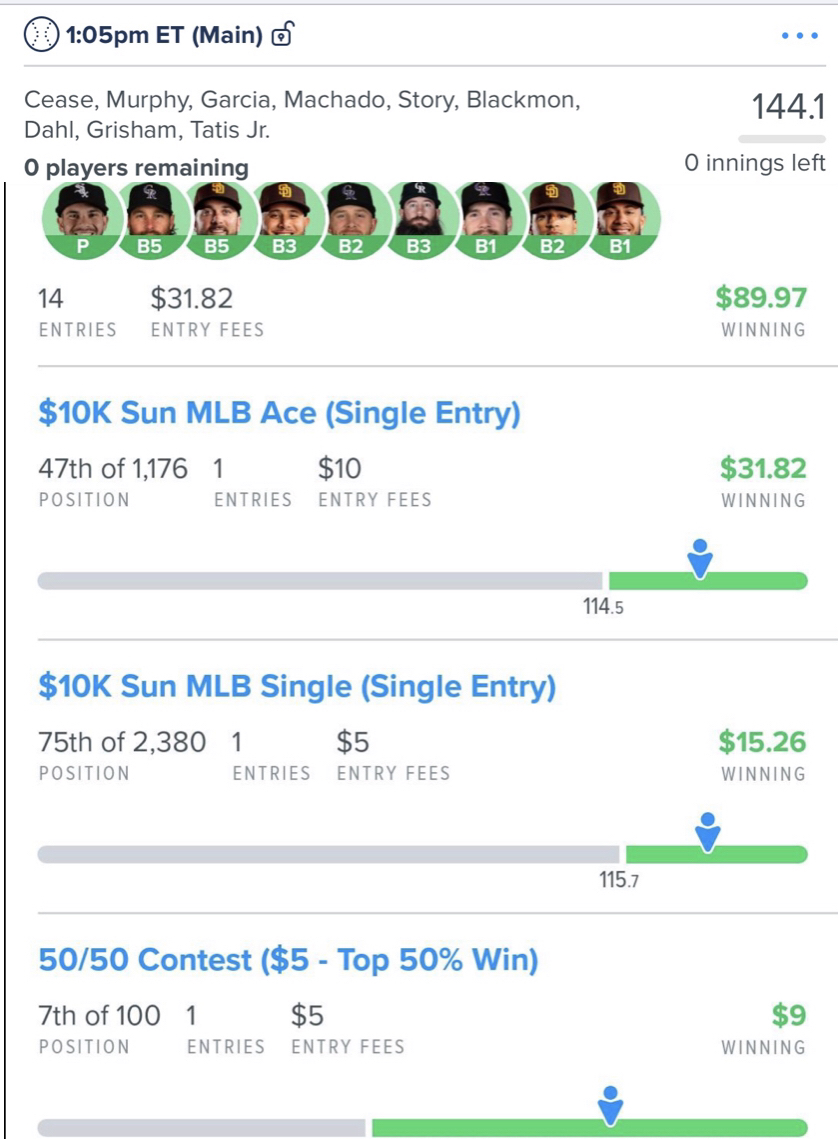 Join #FREE http://zpr.io/tk4Hy as another #win was just posted for Team Prime!  The #best #DailyFantasySports #DFScontent !  is http://zpr.io/6c8WF    MLB Main top5%#GPP placing #baseball   #FanDuel #DraftKings #DFS #sportspicks #NBA #NFL #MLBpic.twitter.com/iL82HCSqWi