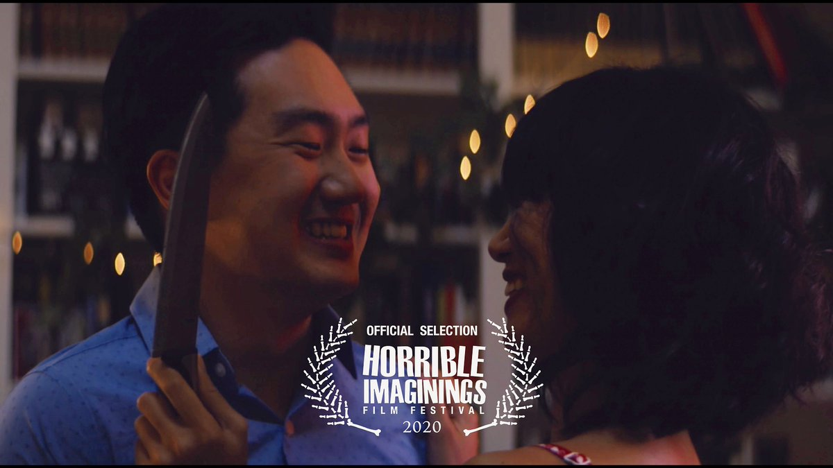 Oh this is just a delight. We are so pleased to be accepted by @HIFilmFest as our festival train keeps chugging along at incredible speed!!  #horribleimaginings #horribleimaginingsfilmfestival #filmfestival #shortfilm #horrorfilm #horror #horrorcomedy #RepresentationMatterspic.twitter.com/a7d6MkvEoB