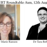 Image for the Tweet beginning: The topic for CONCERT's roundtable