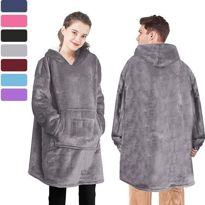 STEAL!!  Oversized Sherpa Hoodie Blanket starting at $21!!  Use promo code; 30HII6XT  2