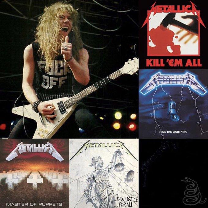 Happy 57th Birthday to Metallica frontman James Hetfield!