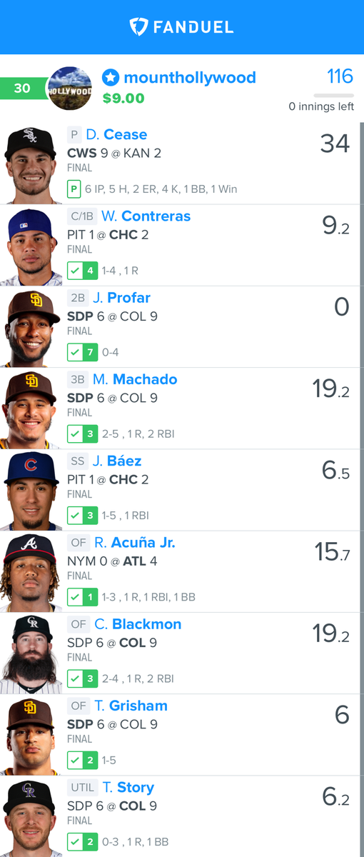 Join #FREE http://zpr.io/tk4Hy as another #win was just posted for Team Prime!  The #best #DailyFantasySports #DFScontent !  is http://zpr.io/6c8WF   #FanDuel #DraftKings #DFS #sportspicks #NBA #NFL #MLBpic.twitter.com/N7klGFJjCM