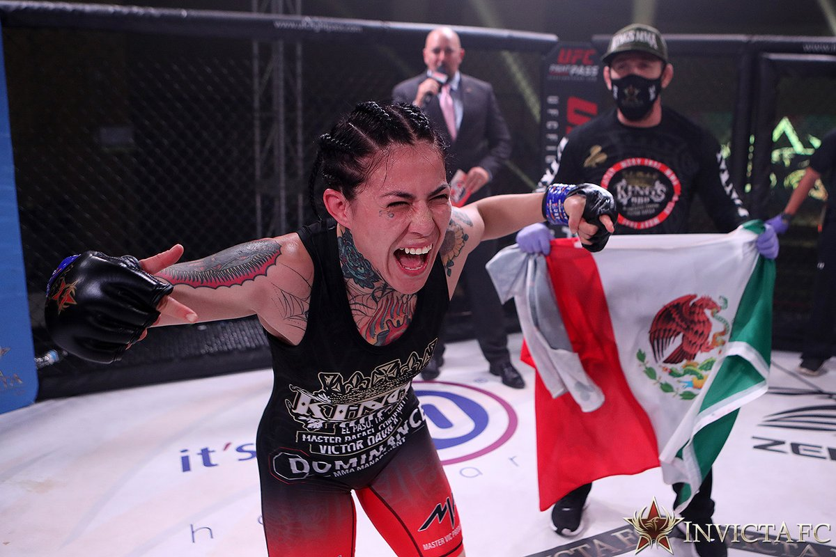 Check out the official #InvictaFC41 fight gallery by photographer Dave Mandel here: https://t.co/nBttqfW5j8 https://t.co/II8RWmMYVE