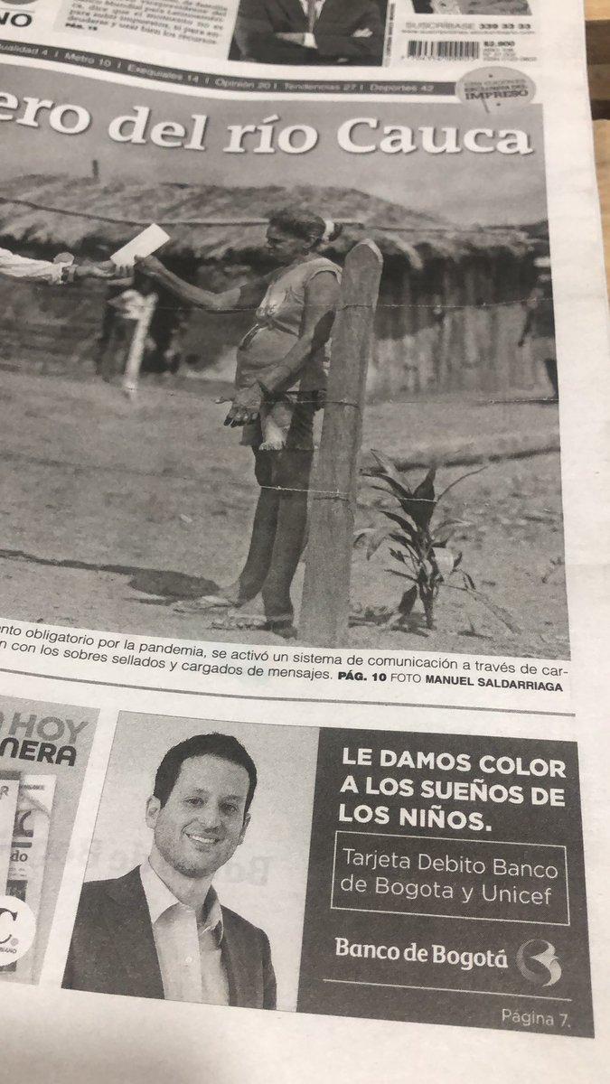 @DanielSamperO @samuelescritor @cuervoji @elespectador @IvanDuque Es una publicidad del Banco de Bogotá. https://t.co/1rf3rUuvwh