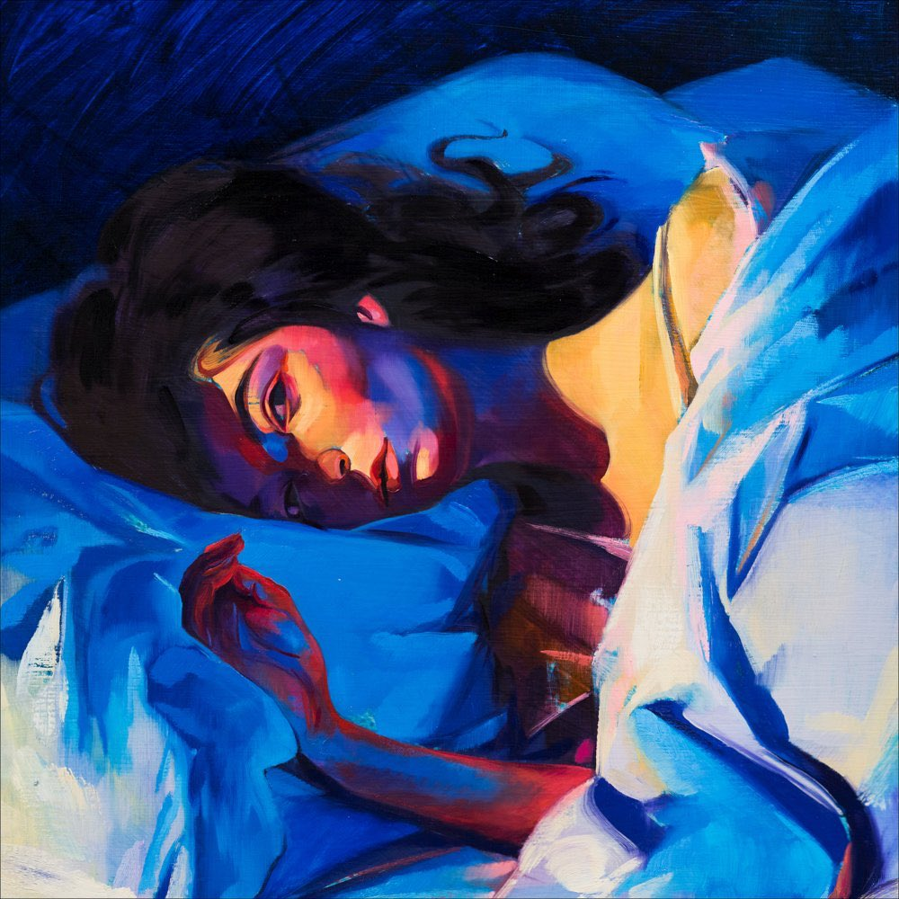 .@Lorde's 2017 album, 'Melodrama,' has re-entered the Top 40 on US iTunes.