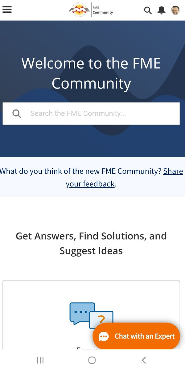 Sunday and help some users #FME in the new FME Community     💻😃 @SafeSoftware https://t.co/03mMZKGFGN