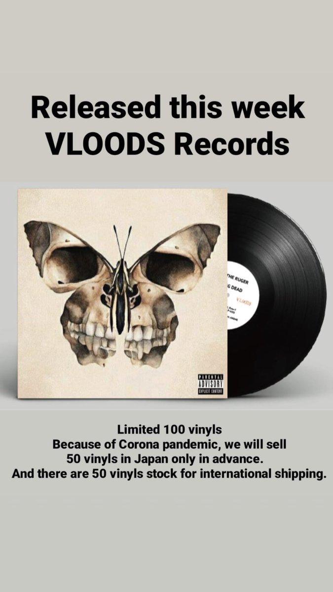 "Zak The Ruger  ""FLYING DEAD"" Prod. by DJ Masakaz Limited 100 vinyl Release‼︎ #vloodsrecords https://t.co/zEx8ed06R5"