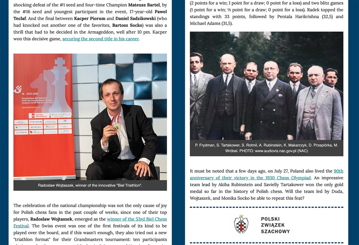 International Chess Federation No Twitter We Are About To Release Our Newsletter 011 Which Will Be As International As It Gets Poland Georgia Ireland Us South Africa And Australia Are Some Of