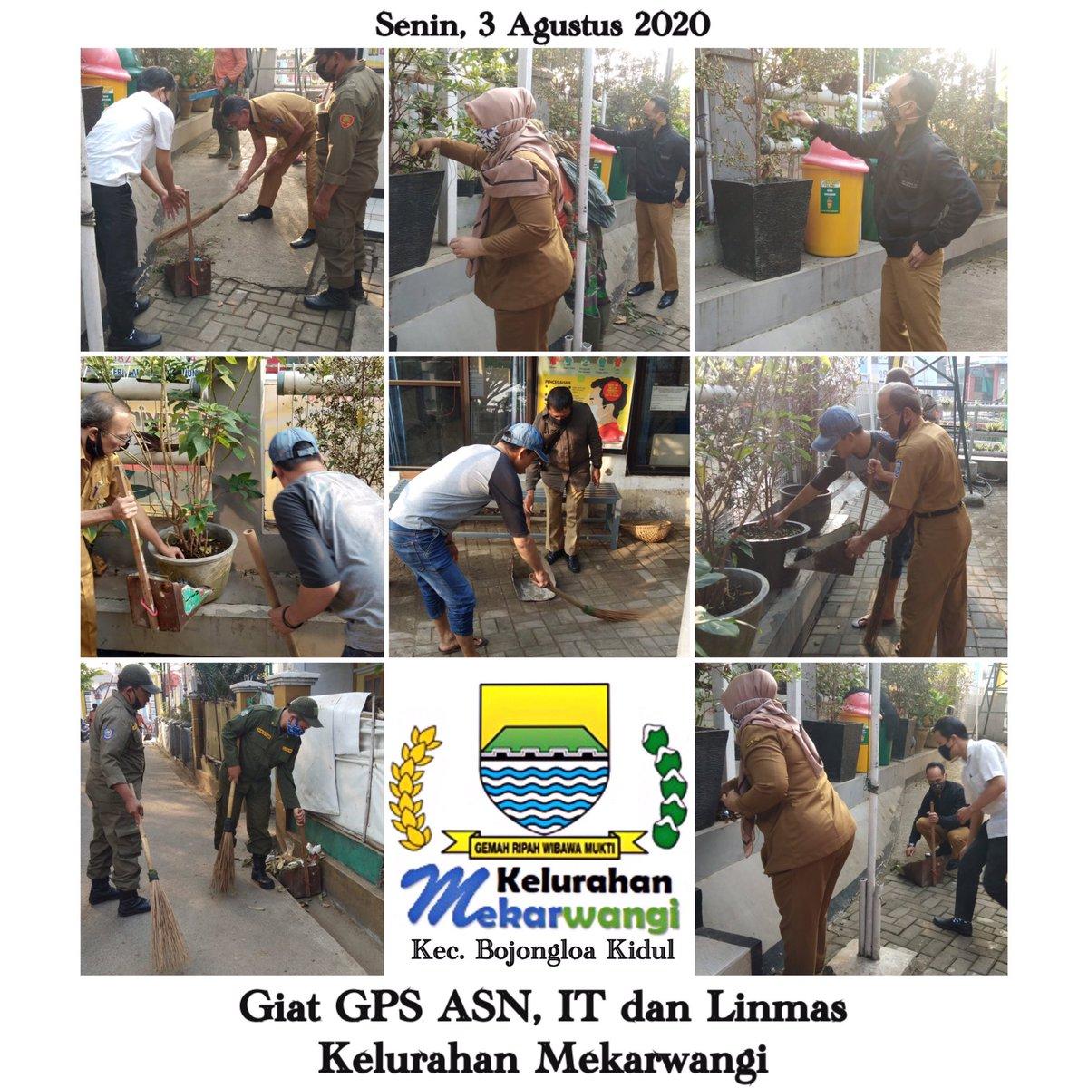Giat GPS ASN, IT dan Linmas Kelurahan Mekarwangi Kecamatan Bojongloa Kidul Kota Bandung pada hari Senin tanggal 3 Agustus 2020 @OdedMD @kangyanamulyana @pembdg @kecbojkid_ktbdg #bandungjuara #tetapsemangat #bersamakitabisapic.twitter.com/VnVO8sf1yR