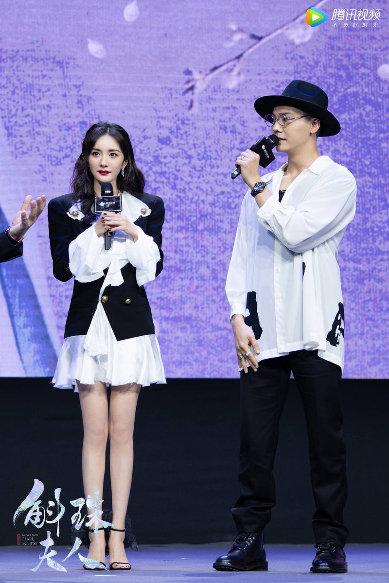 20:02:08 William Chan and yangmi attended the Tencent Video Conference, Introducing the drama #novolandpearleclipse #novoland #pearleclipse #斛珠夫人 #陈伟霆斛珠夫人 #陈伟霆古装  #yangmi #yangmimimi912 #williamchanwaiting #WilliamChan #陈伟霆 #陳偉霆 #ChenWeiTing #Trần_Vỹ_Đình https://t.co/cBZY1dhgMi