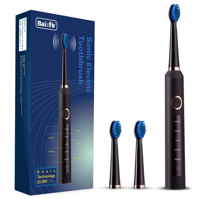 Sonic Electric Toothbrush Bundle for $13.99!  Use promo code; 50IQ7UQP  2