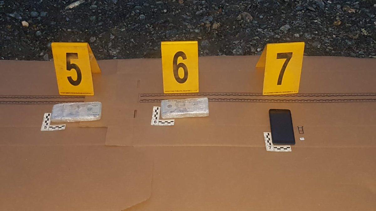 test Twitter Media - Dentro de un camión de volteo, la PNC encontró un costal con seis paquetes con dólares, en billetes de  20, haciendo un total de 21 mil 880 dólares. Esto en el kilómetro 242, a inmediaciones de la segunda entrada a Morales, Izabal. https://t.co/ewaUsEFfbt