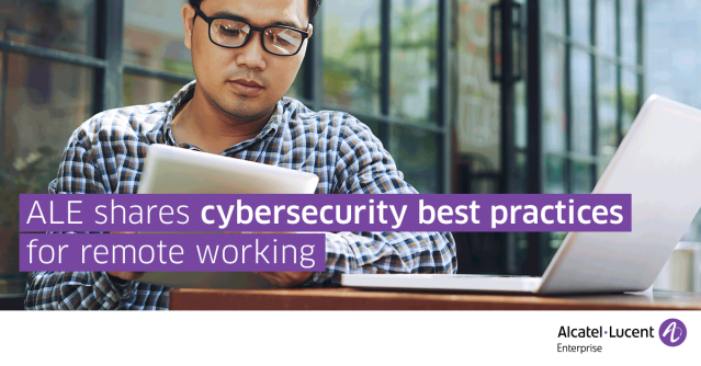 @ALUEnterprise enabled remote working for all 2000 employees across 50 offices worldwide in a matter of days to ensure #BusinessContinuity. Download the brochure to learn about home #cybersecurity best practices for businesses and their teams. https://bit.ly/2XloYhT pic.twitter.com/czSi5SkOUz