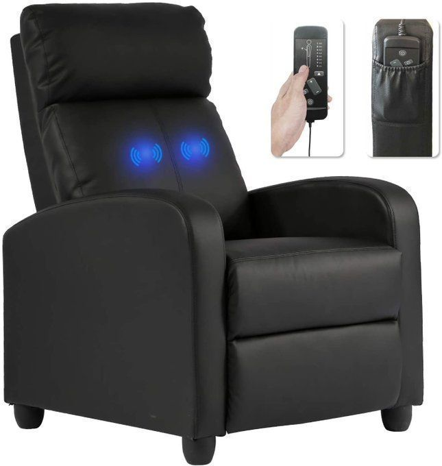 Top Rated Recliner Chair with massage Function- $149!!