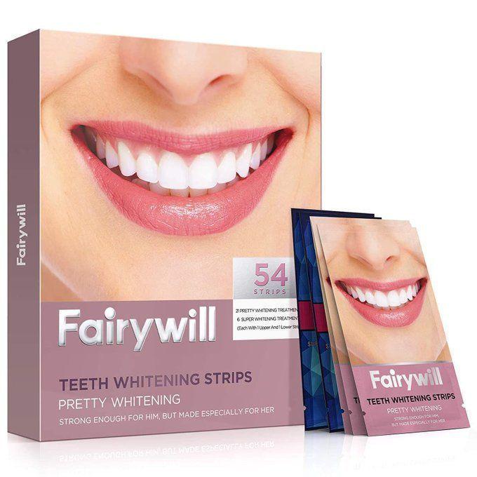 54 Piece Teeth Whitening Strips, $10!!              *coupon PLUS code; B9MAWHUO
