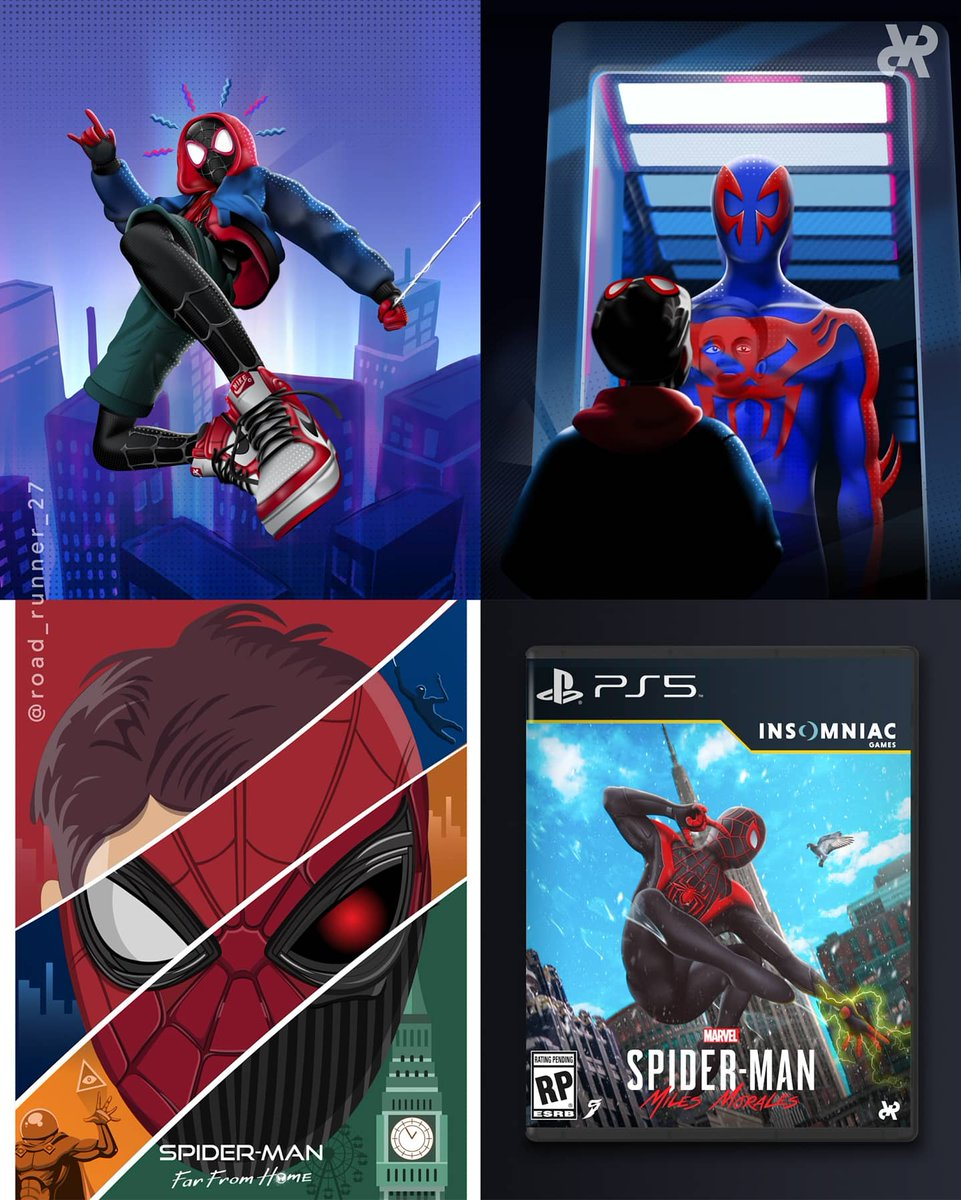 It was Spiderman Day 2 days ago! Here are my all time favourite Spiderman Artworks I've made till now!  #SpiderManDay #SpiderManPS4 #SpiderMan #Spidey #ironspider #IronMan #marvel #marvelcomics #MarvelStudios #superhero #AvengersEndgame #avengers #GwenStacy #SpidermanPS5pic.twitter.com/EBsak0TlN1