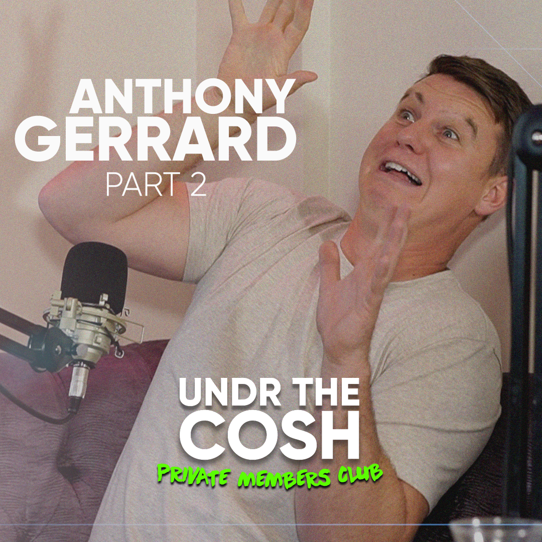 Antony Gerrard Pt2 | He Couldnt Run A Pet Shop OUT NOW with early release Patreon tier 2 patreon.com/undrthecosh Full release tomorrow🎉