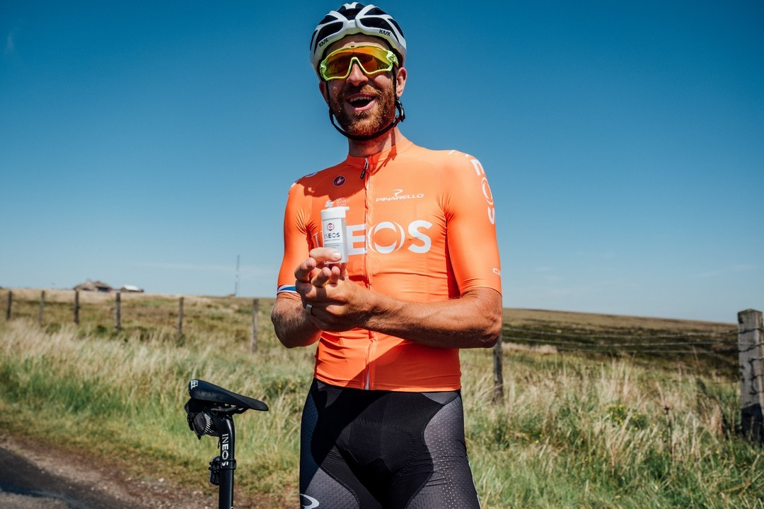 We use @INEOSHygienics hand sanitiser as an essential part of our training and race routine to stay safe on the road #INEOSConfidence #INEOStogether  More info ➡️ https://t.co/bkTHNJqiSd https://t.co/bz1v8GSFye