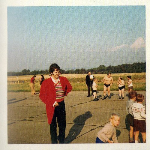 Rare snapshot of #PaulMcCartney taken by a fan on the set of Magical Mystery Tour, 1967 #TheBeatles
