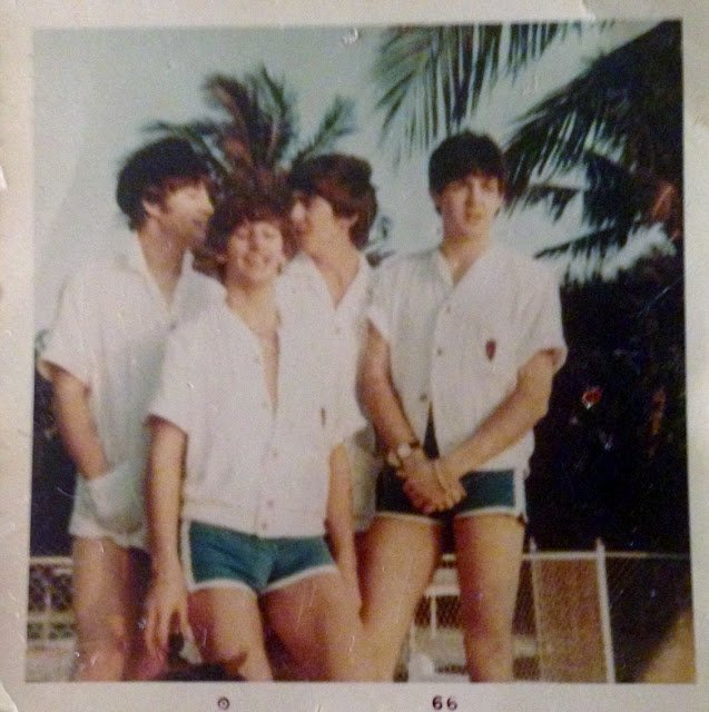 Rare snapshots of #TheBeatles taken in Miami during their first US Tour, February 1964
