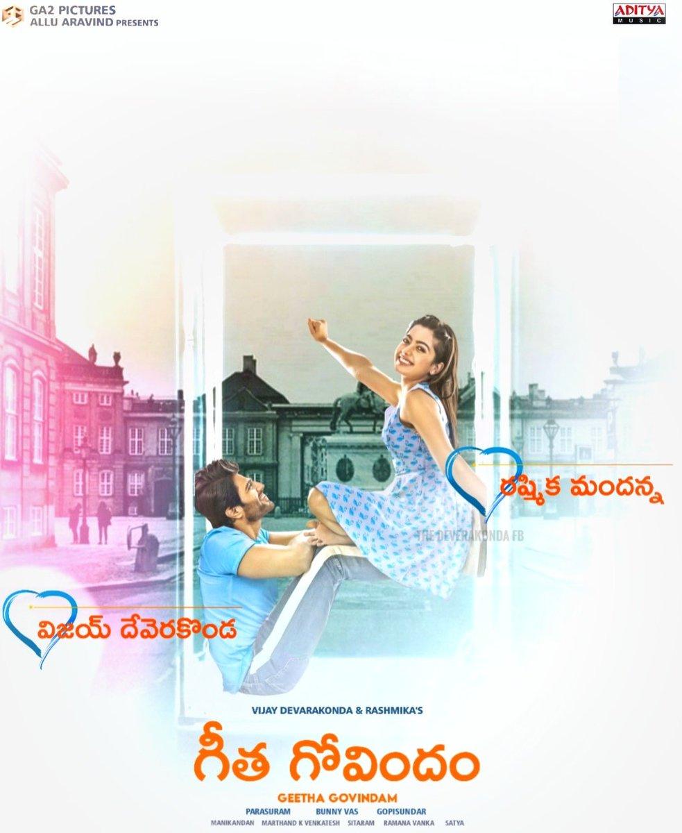 Classic Love Story #GeethaGovindam completes 2 Years on this August 15#VijayDeverakonda @TheDeverakonda #RashmikaMandanna @iamRashmikapic.twitter.com/eDXq3DQW1y