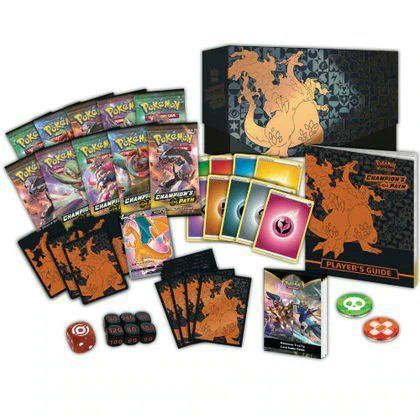 Pokémon TCG: Champion's Path Elite Trainer Box up for preorder!!  2