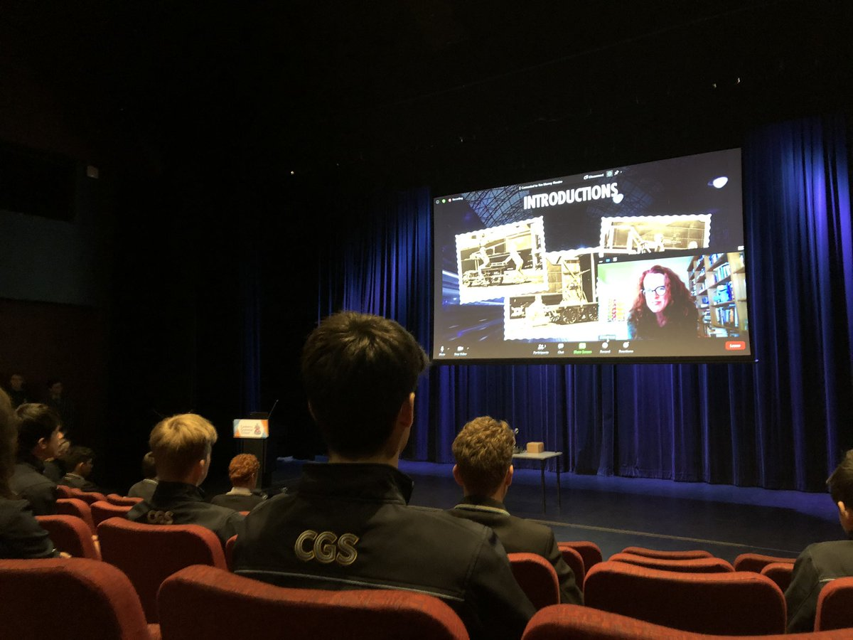 Another terrific #CGSInsight. This time incredibly fortunate to be hearing from ANU 3Ai Prof Genevieve Bell (aka @feraldata) on the disruptive technology of steam engines & the next great technological evolution: the emergence of artificial intelligence. Sincere thanks Prof Bell.