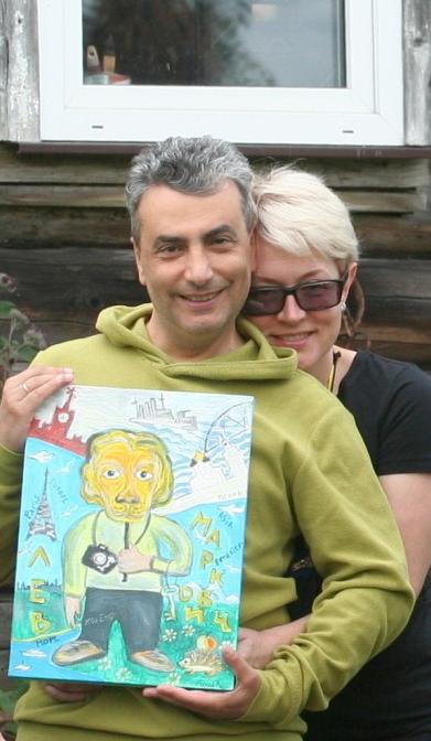 Подарок Шлосбергу от «митьков» на Ильин день https://t.co/8Clg5aoIFF