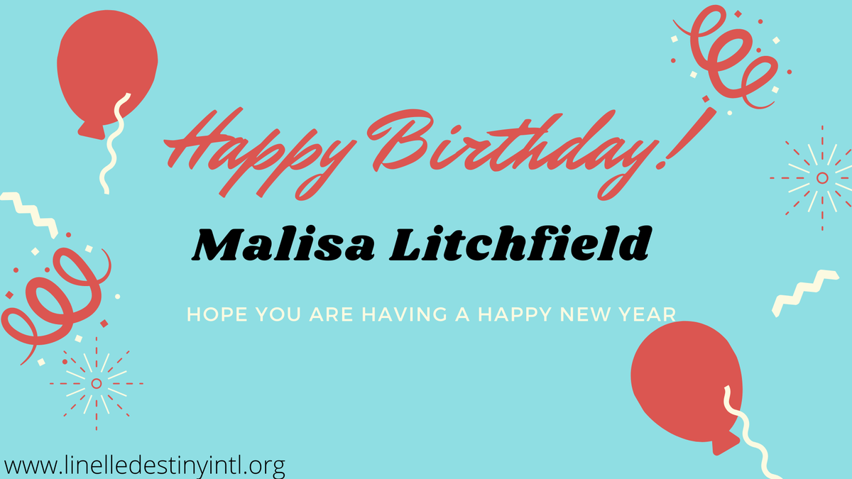 #teamDestiny is wishing #MalisaLitchfield a happy new year, we hope we are not late in our wishes.   Better things are coming your way this #newyear  Enjoy! pic.twitter.com/Ke8nxsy7u8