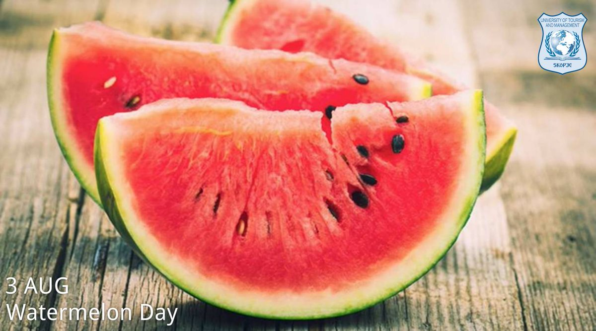#watermelon #dayoftheyear #skopjeutms#simplythebest #utms #bestuniversity #college #student #study #school #education #students #studentlife #studying #photooftheday #studymotivation #collegelife #motivation #tourism #universitylifepic.twitter.com/Wh9DcahFrw