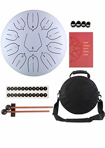 Tongue Drum Steel Tongue Drum (10.1, white) #instruments pic.twitter.com/zQ0LfhN3yE
