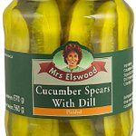 Image for the Tweet beginning: Mrs Elswood Pickled Cucumber Spears