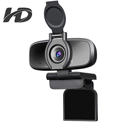 Get Up to 40% off Dericam Webcam, HD 1080P Webcam, USB Webcam for Video C Only £26.64 2